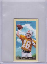 Peyton Manning NCAA COLLEGE FOOTBALL Mini Card TENNESSEE VOLUNTEERS Colt Broncos