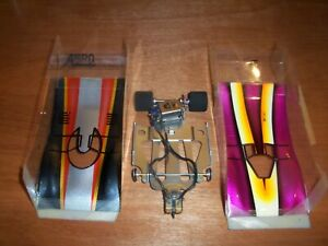 PARMA WING SLOT CAR OUTLAW MOTOR_SEE MOTOR RUN IN A VIDEO_& YOU CHOOSE ONE BODY