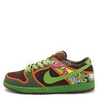 Nike Dunk Low PRM DLS SB QS [789841-332] Skateboarding De La Soul Safari/Green
