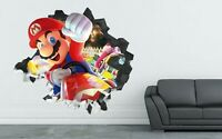 Mario Kart Winner Action Custom Wall Decals 3D Wall Stickers Art - LS17