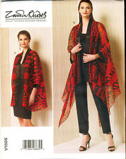 VOGUE SEWING PATTERN 1505 MISSES 16-26 LOOSE-FITTING KIMONO JACKETS - PLUS SIZES