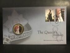 PNC Australia 2006 QEII Queen's 80th Birthday Perth Mint 50c Coloured Coin