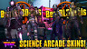 Borderlands 3 Science Arcade Skins and Neon Heads! Whole Set! PS4 XBOX1 PC! BL3