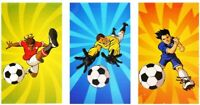 1 6 12, 24 48 Mini FOOTBALL Notebooks Girls Boys Party Note Pad Loot Bag Fillers