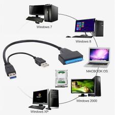 USB 3.0 zu SATA Adapter Konverter Kabel für 2.5Zoll SATA/HDD Externe Festplatten