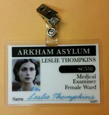 Gotham  ID Badge - Medical Examiner Leslie Tompkins cosplay prop costume