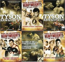 THE GREATEST HEAVYWEIGHT BOXING CHAMPS DOCUMENTARIES COLLECTION NEW 6 DVD R4