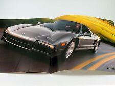 Original Acura NSX Sales Brochure Catalog 1999