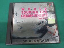 PlayStation -- WTC World Touring Car Championship -- PS1. JAPAN. Work. 31398