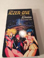Fight! Iczer-One (VHS, US Renditions, Nippan, Japanese, English Subs) RARE HTF