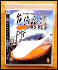 RAILFAN TAIWAN HIGH SPEED RAIL PS3 PlayStation 3 Game REGION FREE CHINESE IMPORT
