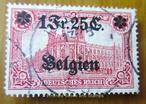 EBS Germany 1914 - World War I - Occupied Belgium - Michel 8 Used (898