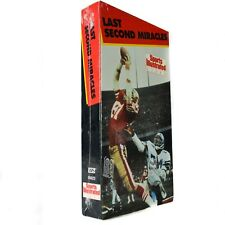 (Sealed) Sports Illustrated Last Second Miracles Video VHS VCR 1991 HBO Video