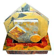 STONE ART FONTAINE Fontaines d'intérieur FONTAINES Ardoise hexagonal 40x47x20 cm