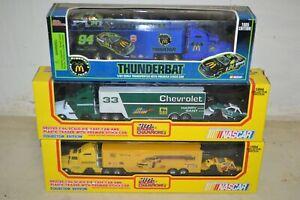 Racing Champions NASCAR Harry Grant Kodak Thunderbat 1/64 Cab Stock Car Hauler