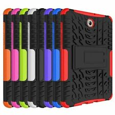 Rugged Stand Rubber Shockproof Hybrid Hard Case Cover For Samsung Galaxy Tab