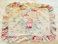 Ralph Lauren Pillow Sham Cover Elsa Grasslands ? Floral Standard Distress
