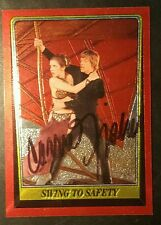 Carrie Fisher 1999 Topps Crome Archives Leia AUTO Signed Autograph Star Wars