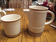 Brendan - Erin Stone - Pottery Pitcher & Matching Cup - Made in Arxlow, Ireland