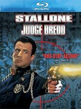 Blu Ray JUDGE DREDD. Sylvester Stallone.  UK compatible. New sealed.