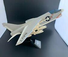 Vintage U.S. Navy A-7 Corsair II Desktop Model - Complete - NOS in Original Box!