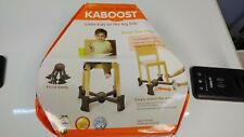 Kaboost Portable Chair Booster - Chocolate Brown - Lightweight - 2 Heights Brown