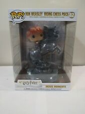 Funko Pop Movie Moments Ron Weasley Riding Chess Piece #82