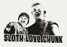 THE GOONIES SLOTH LOVE CHUNK POSTER ART PRINT A3 SIZE GZ2377