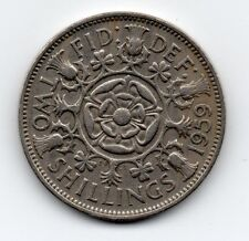 Great Britain - Engeland - 2 Shilling - 1 Florin 1959