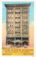 Postcard The Oaks Hotel in Oakland, California~121093