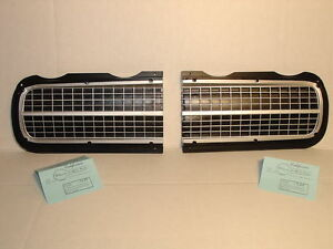 1969 Pontiac GTO Hide Away Headlight Door Set Left and Right Hand Show Quality
