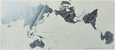 Geography World Map AuthaGraph Platinum Edition Poster Japan New fe0