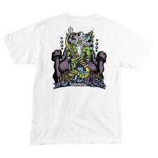 Santa Cruz Jason Jessee NEPTUNE Skateboard T Shirt WHITE XXL