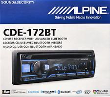 ALPINE CDE-172BT AM/FM CD RECEIVER W/ BLUETOOTH & SeriusXm ready BRANDNEW!