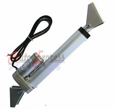 "Linear Actuator 4"" Heavy Duty with Brackets Stroke 225 Pound Max Lift 12 Volt DC"