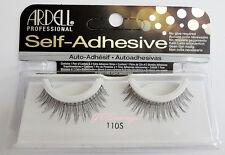 Ardell SELF-ADHESIVE #110S False Eyelashes AUTHENTIC Strip Natural Fashion 110