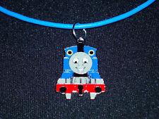 Kinder Thomas die kleine Lokomotive Zug Eisenbahn Anhänger + Kette blau - NEU