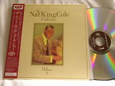 NAT KING COLE Collection Vol 1 Mel Torme Ella Fitzgerald Stan Getz LASERDISC