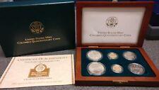 1992 - US MINT Columbus Quincentenary Coins 6pcs w/ COA & BOX