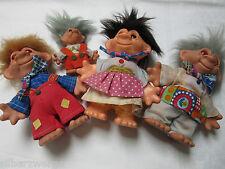 Puppenfamilie Klaubauter Gnome DDR um 1970