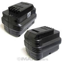 2 x 24V 24 VOLT 2.0AH Ni-Cd Battery for DEWALT Cordless Drill