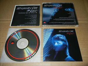"Benjamin Orr ""The Lace"" Japan 1986 WEA/Elektra CD 32XD-541 3200Yen The Cars"