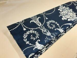 Roman Blind, Laura Ashley Josette Midnight fabric  (Made to measure)