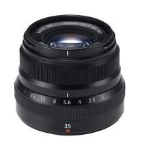 Fujifilm Fujinon XF 35mm f/2 R WR lens, Black, boxed with caps, hood & manual