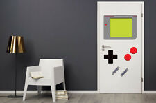 Dry Erase Dorm Room Door Gamer Decals Man Cave Retro Vintage Stickers GAME BOY
