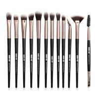 12Pcs Makeup Brushes Set Eye Shadow Blending Eyeliner Eyebrow Brushes 2019