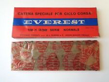 *NOS Vintage 1970s EVEREST Special Corsa 6 Speed 112 link 3/32 chain*