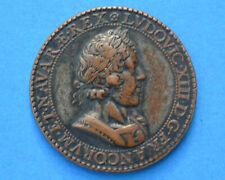 Médaille LOUIS XIII LE JUSTE 1628  Nicolas De BAILLEUL prévôt Marchands de Paris