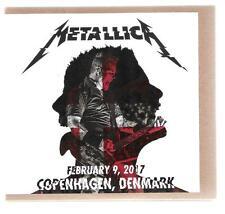 METALLICA 2 CD-R February 9, 2017 Copenhagen 2017 on Blackened Records !Read!