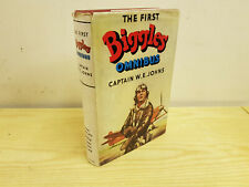 W. E. JOHNS The First Biggles Omnibus - 1955 in dust jacket